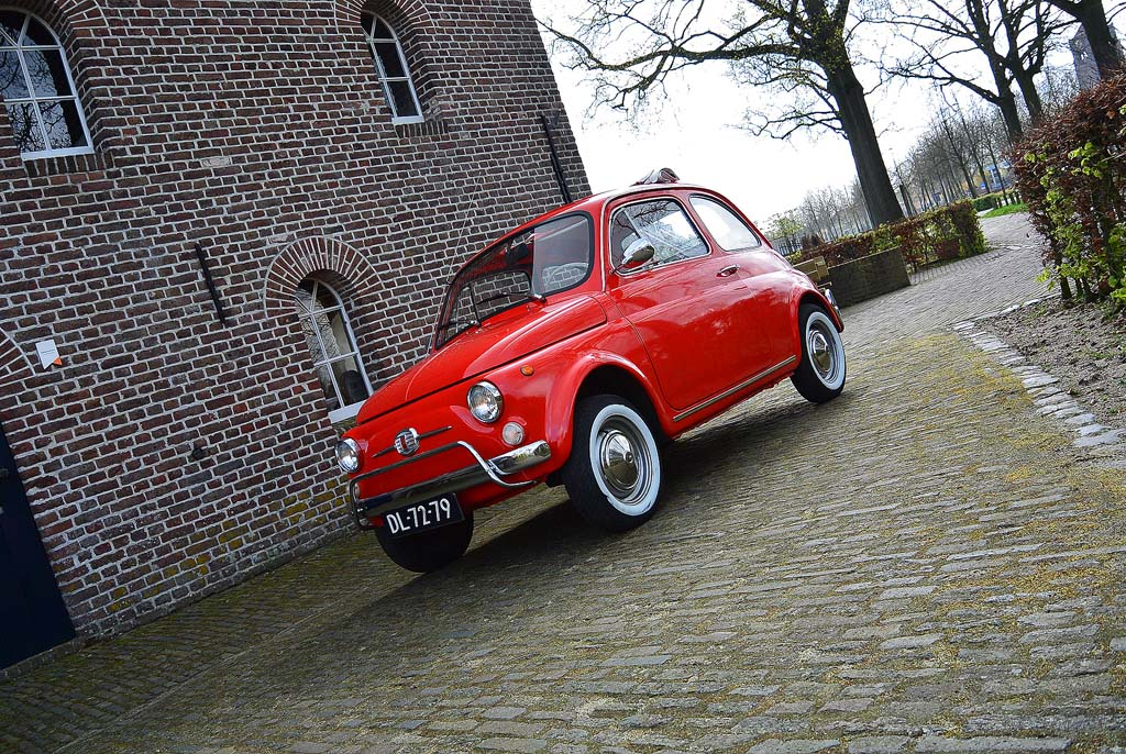 oldtimer fiat 500 huren en zelf rijden. Black Bedroom Furniture Sets. Home Design Ideas